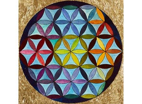 Flower of Life motivet